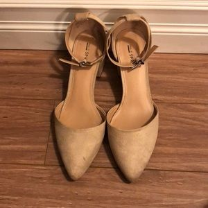 Call it spring size 8.5 pointy toe block heel